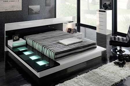 Grey and black bedroom designs