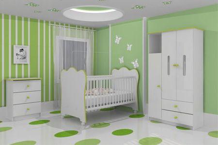 quarto masculino verde