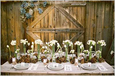 casamentos simples decorados