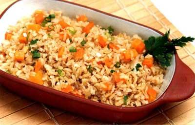dicas de arroz integral