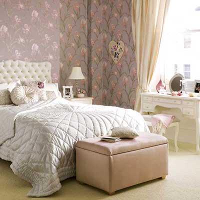 dicas de como decorar quarto feminino