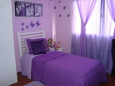 imagens de como decorar quarto feminino
