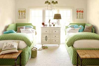 imagens de decoração de quartos femininos