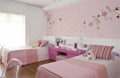 passo a passo de decoração de quartos femininos