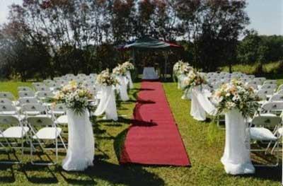 decorações de decoração de casamentos