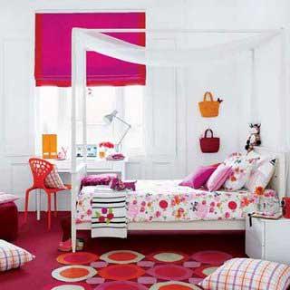 quartos femininos decorados