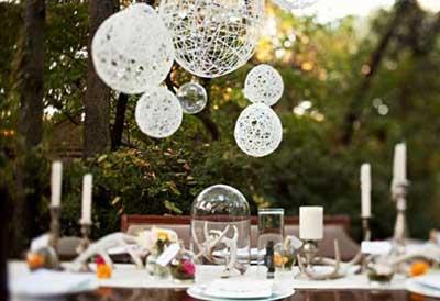 fotos de decoração para casamento simples