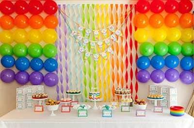fotos de festas com balões