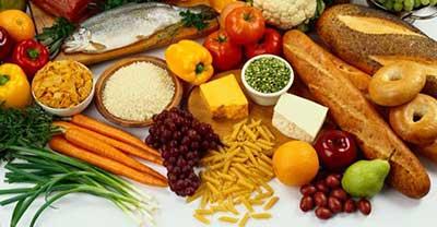 alimentos com nutrientes
