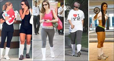 moda fitness em tendências