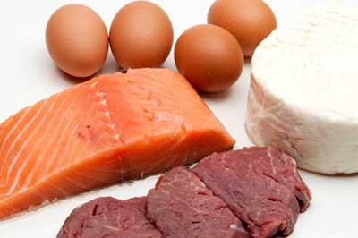 carnes, ovos, frangos e peixes
