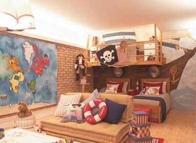 5 dicas de decora o para quartos de beb s for Sofa que se transforma em beliche