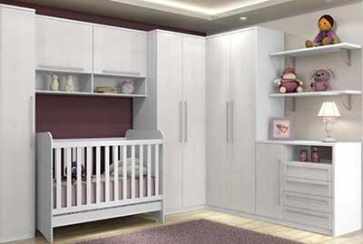 dicas de quartos de bebês