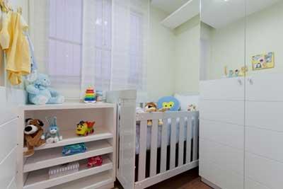 fotos de quartos decorados para bebês