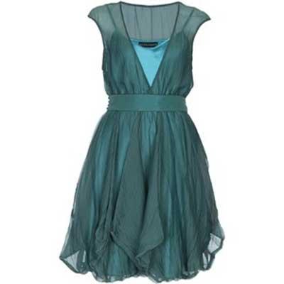 modelos de Vestido de seda
