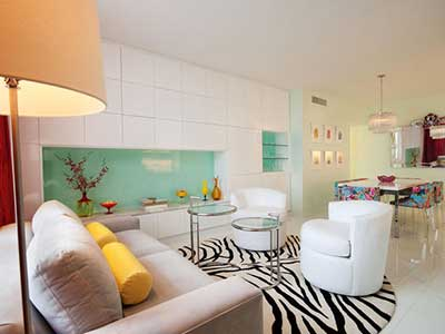 5 apartamentos decorados em fotos Apartamentos pequenos minimalistas