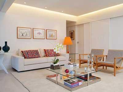 5 apartamentos decorados em fotos - Decorar casas pequenas ...