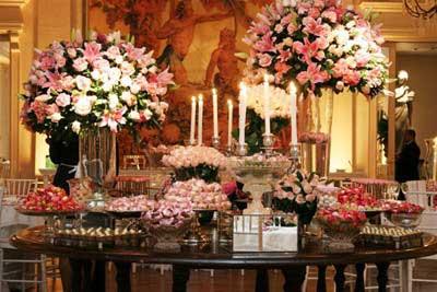 fotos de casamento com flores
