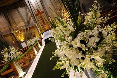sugestões de decoração para casamentos