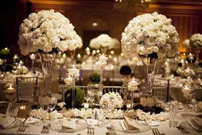 casamento com flores