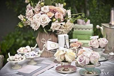 decoração romântica e fofa