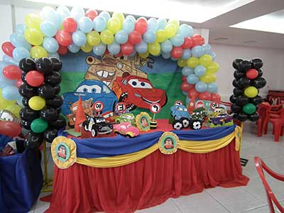 como decorar festas
