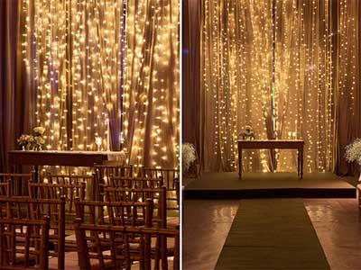 fotos de decoração romântica