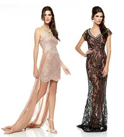 vestidos de renda