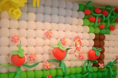 festa infantil decorada