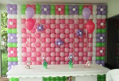 mural de bola para decorar