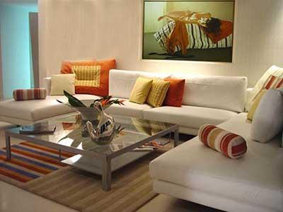 5 dicas de decora o para sala de estar fotos for Como e living room em portugues