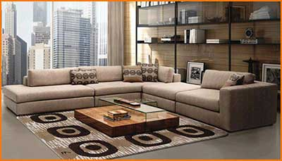 5 dicas de decora o para sala de estar fotos for Sofa grande sala pequena