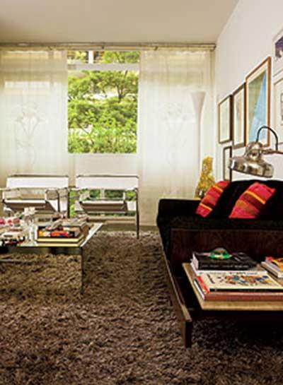 5 dicas de decora o para sala de estar fotos for Sala de estar tapete