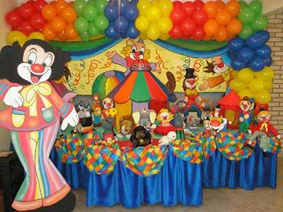 fotos e dicas de como decorar festas infantis