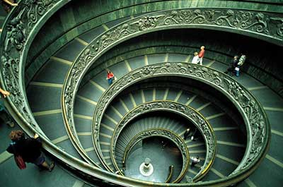 escadas geométricas