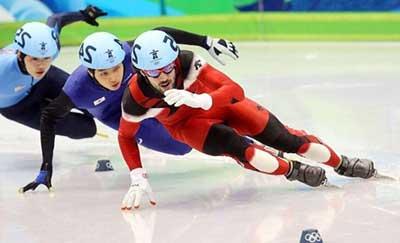 correndo no gelo