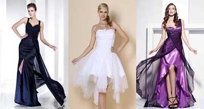 moda de vestidos de formatura