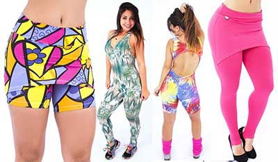 moda de looks fitness