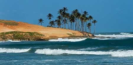 imagens de praias do ceará